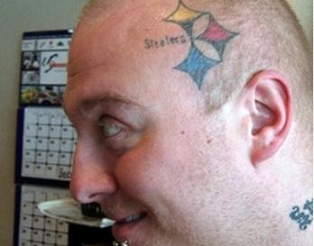 nfl head tattoo