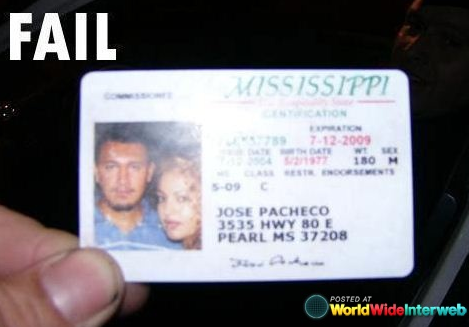 The Funniest Driver S Licenses Of All Time