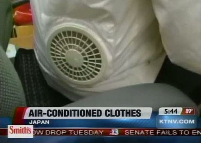 air conditioned clothes