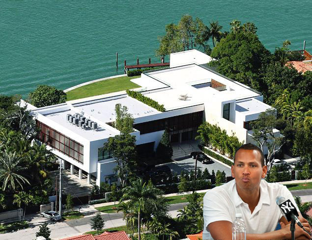 The 10 most expensive pro athlete homes ever for Biggest house in miami