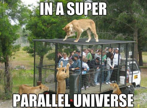animal parallel universe