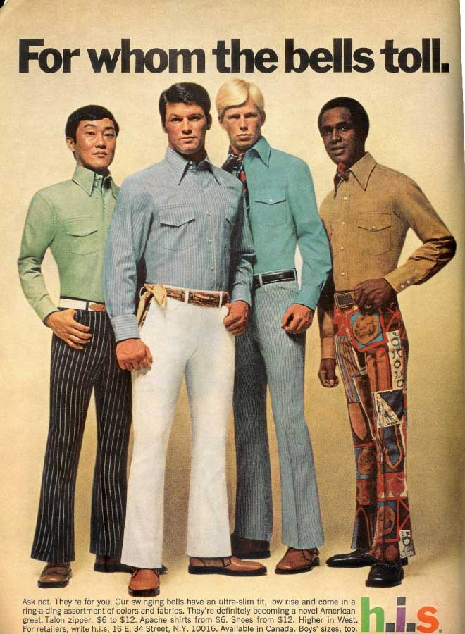 "cc8577cffe36e 1970s mens fashion often results in a ""Fred from Scooby Doo"" vibe."