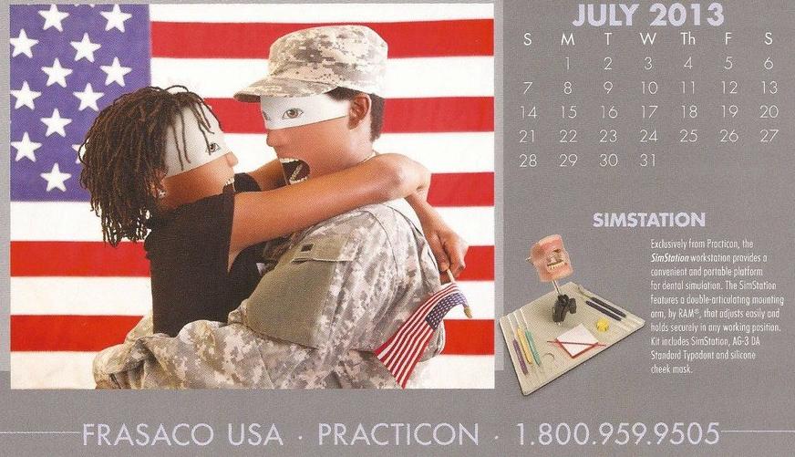 bizarre calendar photos
