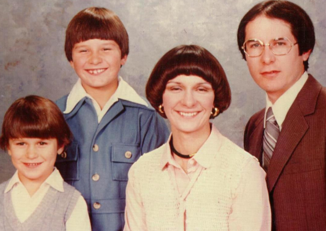 bowl cut family