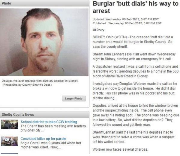 burglar-butt-dial