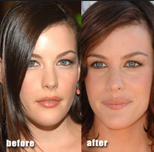 celebrities before after
