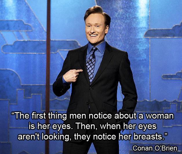 conan o brien breasts quote