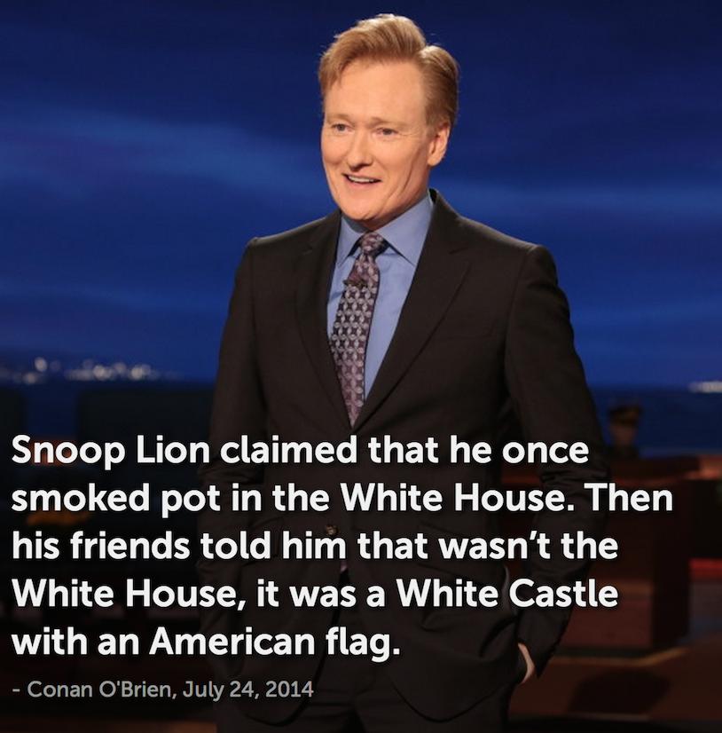 conan snoop lion joke