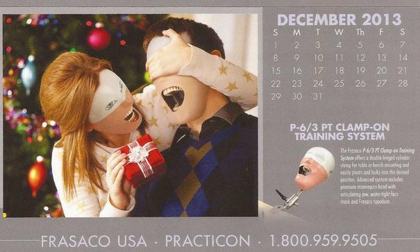 creepiest calendar december