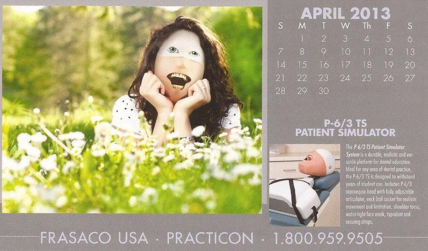 creepiest calendar ever