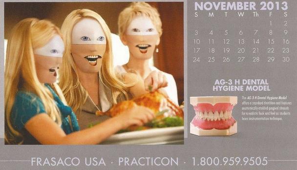 creepiest calendar november