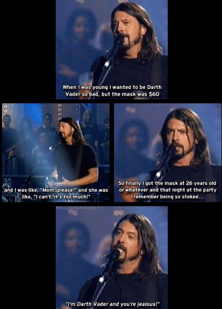 dave grohl vader