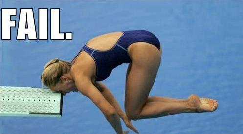 diver fails