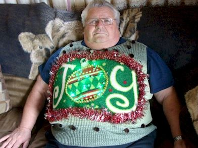 fat christmas sweater