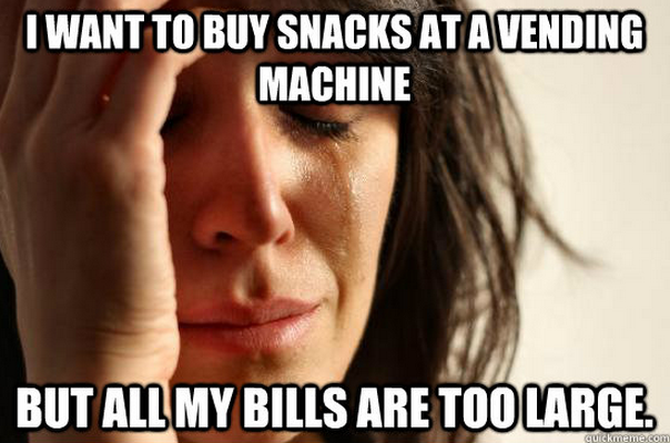 first world problems lady