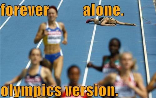 forever alone olympics