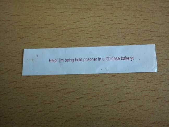 The 20 Funniest Fortune Cookie Sayings Ever Gallery