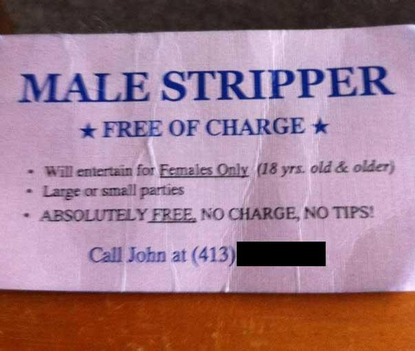Funny business card design