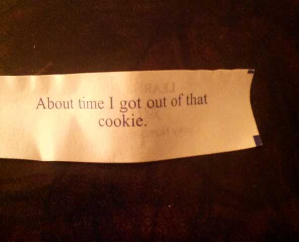 funny fortune cookie quotes