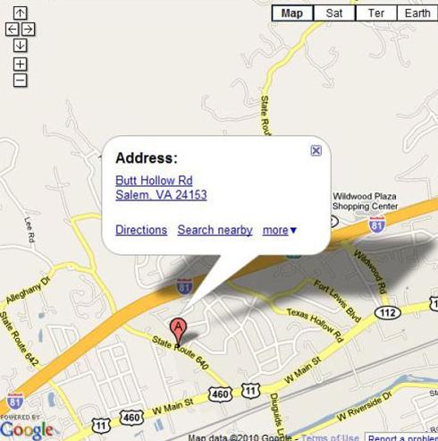funny street name google