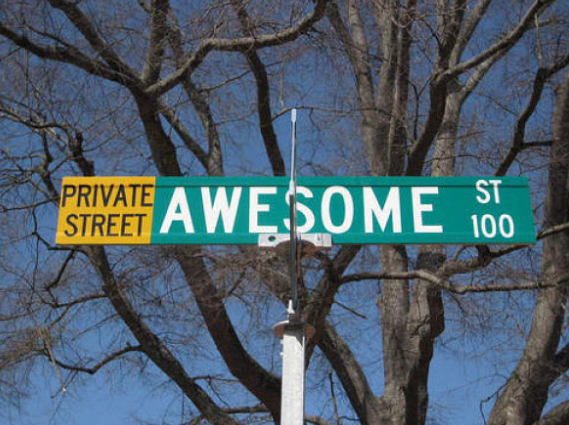 funny street names gallery