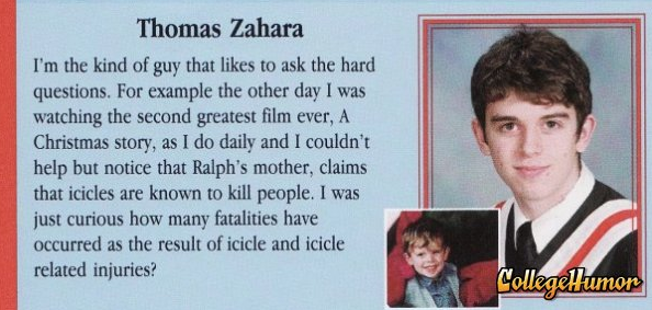 Funny Yearbook Posters: 100 Funniest Yearbook Quotes Ever (Page 2)