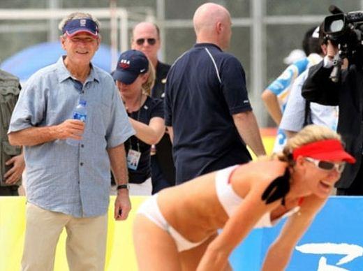 geoge bus olympics funny