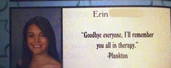 girl yearbook quote