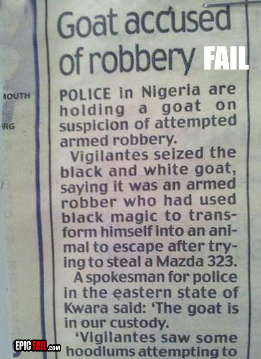 goat-robbery