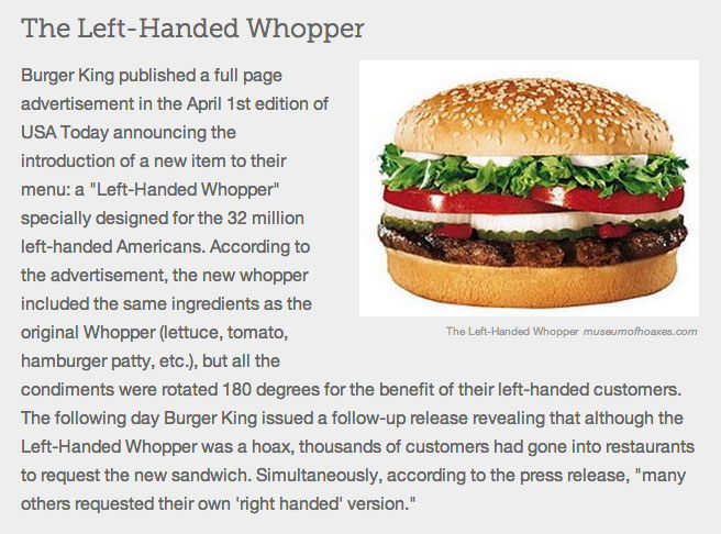 April fool's: 6 examples of brands playing prank on their.