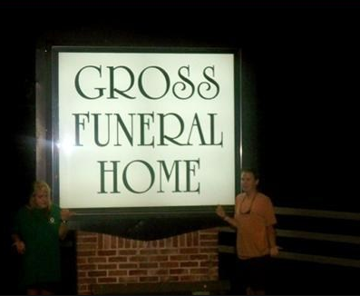 gross funeral home