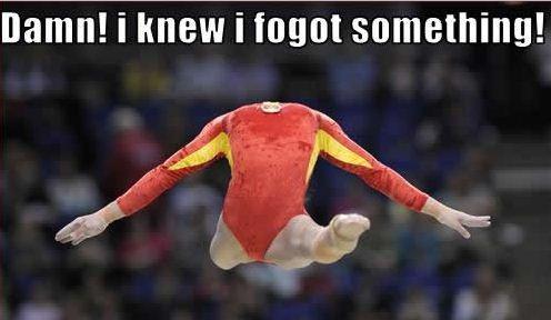 gymnastic no head