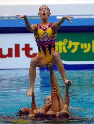 gymnastics funny faces