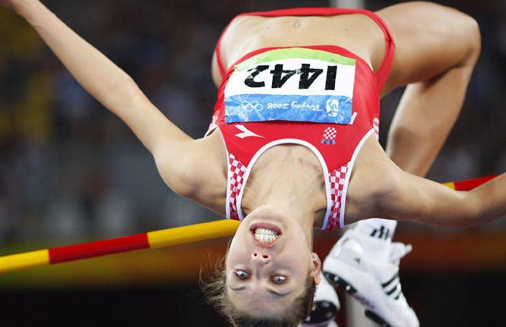 high jump funny