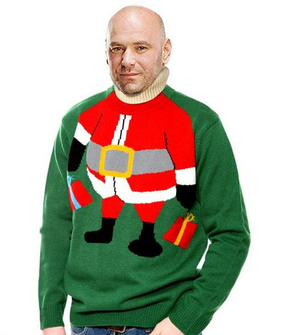 hilarious christmas sweater