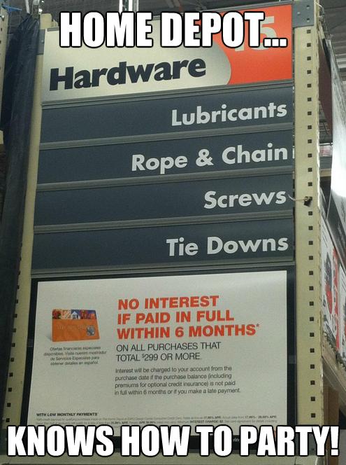 Home Depot Aisle Funny