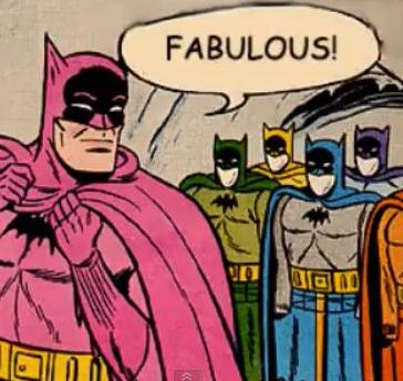 im fabulous batman