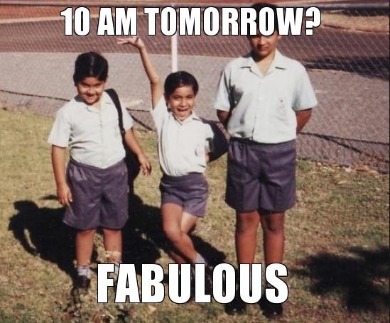 im fabulous meme