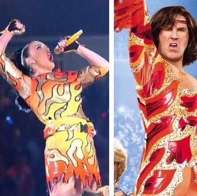 katy perry halftime show outfit