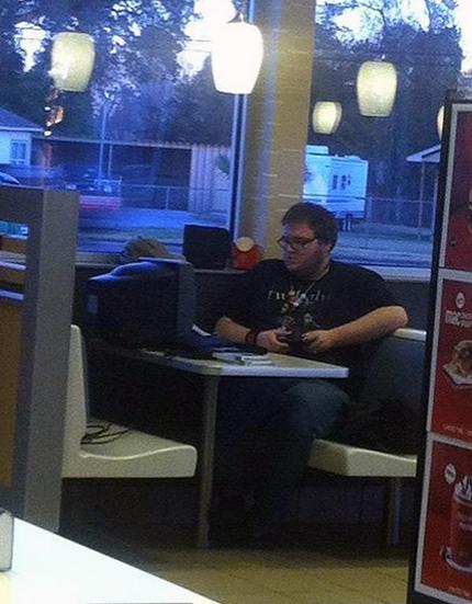 mcdonalds gamer