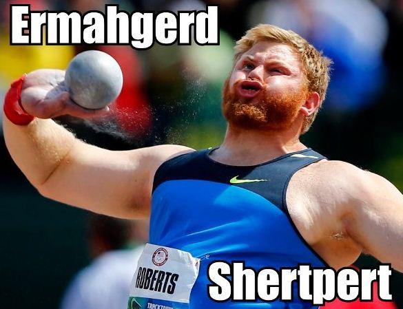 olympics ermahgerd