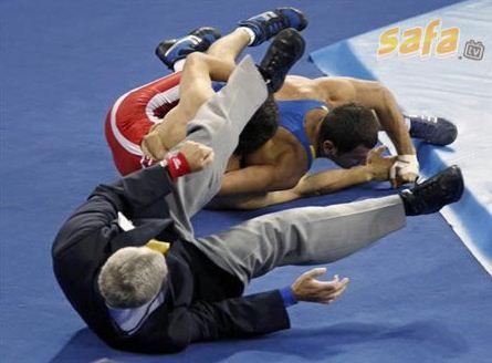 olympics judge