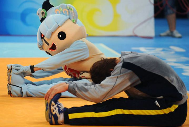olympics mascot funny