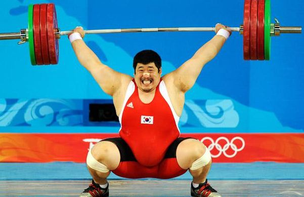 olympics weightlifting funny