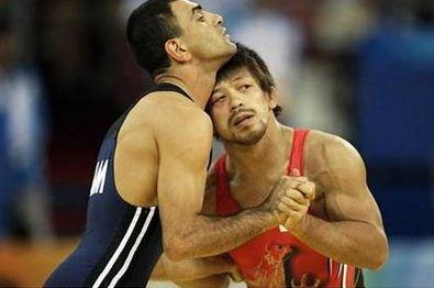 olympics wrestling funny