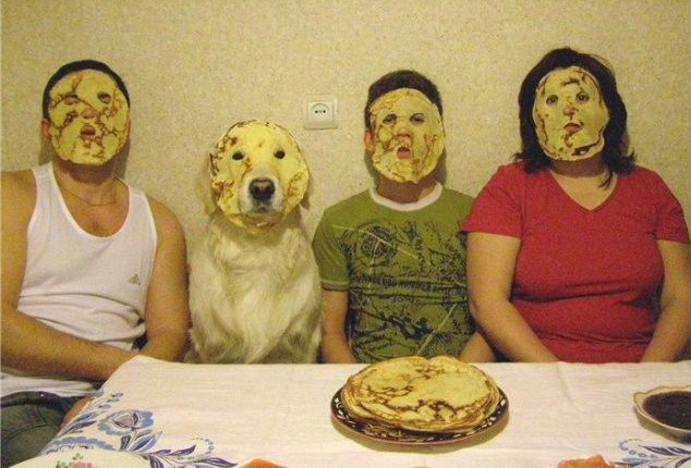 pancake family photo