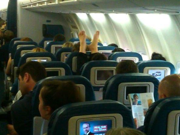 plane passenger fail