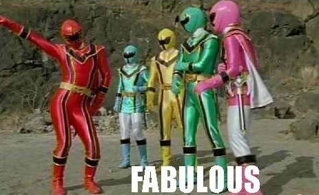 power rangers fabulous