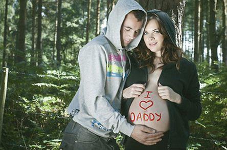 pregnancy photo fail