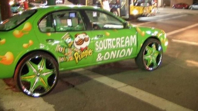 The 25 funniest pimped out rides ever worldwideinterweb pringles car voltagebd Gallery